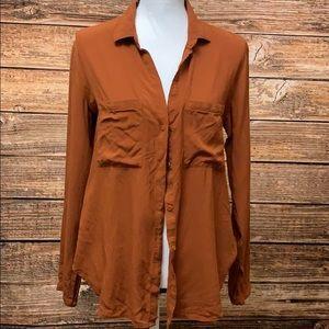 Cloth & Stone• Burnt Orange Button Down